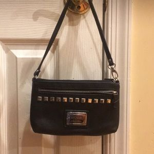 Like new Nicole brand wristlet/purse black